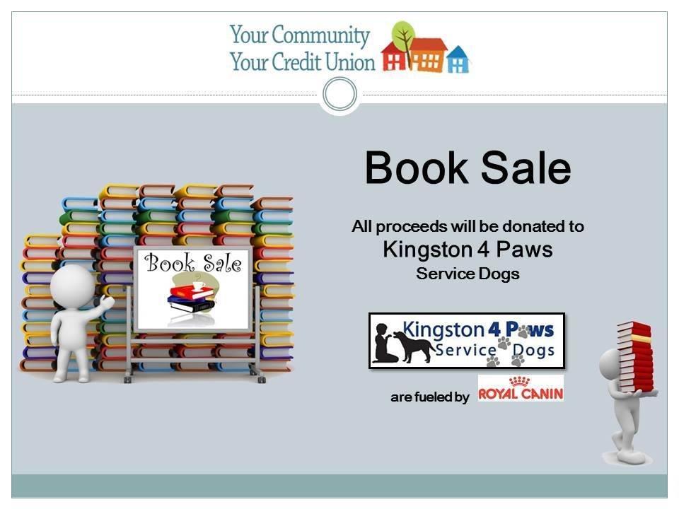 KCCU book sale